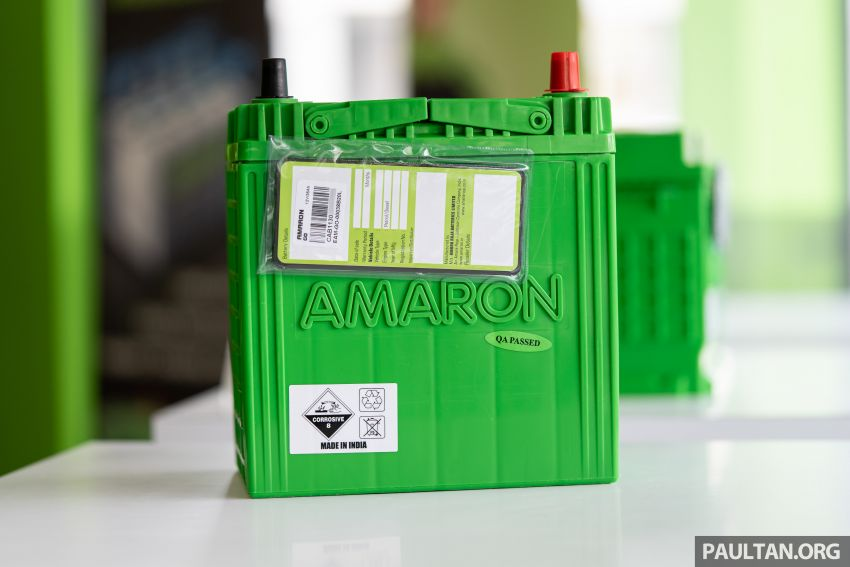 Here's how to spot an official Amaron car battery, and how to register for the 36-month pro-rata warranty Image #1205884