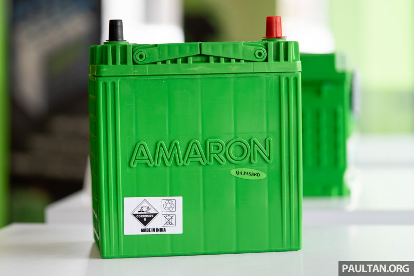 Here's how to spot an official Amaron car battery, and how to register for the 36-month pro-rata warranty Image #1205886