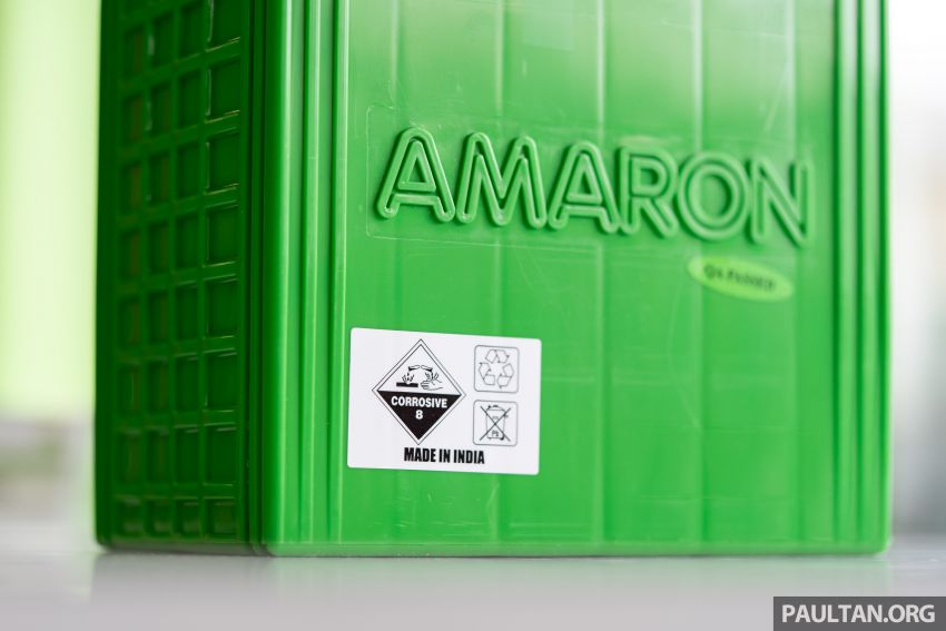 Here's how to spot an official Amaron car battery, and how to register for the 36-month pro-rata warranty Image #1205887