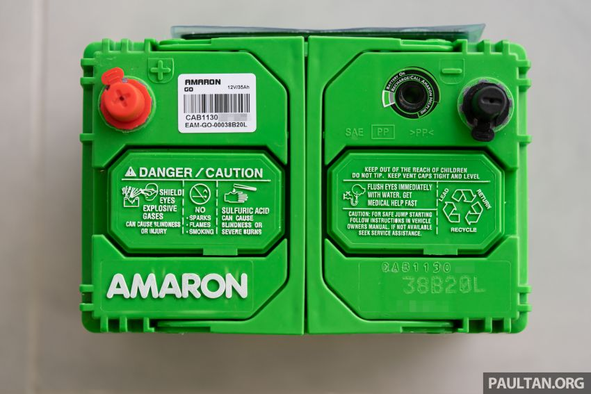 Here's how to spot an official Amaron car battery, and how to register for the 36-month pro-rata warranty Image #1205889
