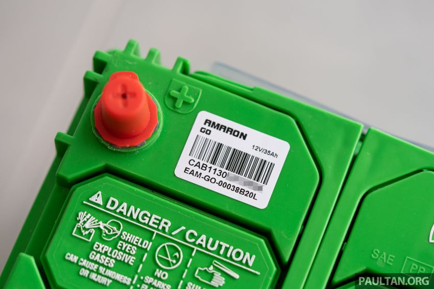 Here's how to spot an official Amaron car battery, and how to register for the 36-month pro-rata warranty Image #1205891