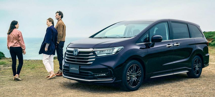 2020 Honda Odyssey facelift debuts in Japan – MPV receives new styling, features, e:HEV hybrid system Image #1205497