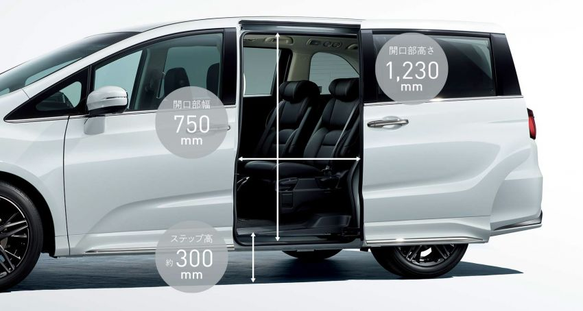 2020 Honda Odyssey facelift debuts in Japan – MPV receives new styling, features, e:HEV hybrid system Image #1205523