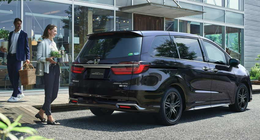 2020 Honda Odyssey facelift debuts in Japan – MPV receives new styling, features, e:HEV hybrid system Image #1205498