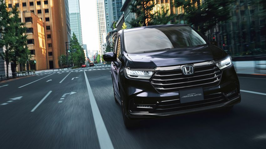 2020 Honda Odyssey facelift debuts in Japan – MPV receives new styling, features, e:HEV hybrid system Image #1205499