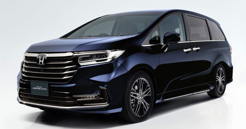 2020 Honda Odyssey facelift debuts in Japan – MPV receives new styling, features, e:HEV hybrid system Image #1205539