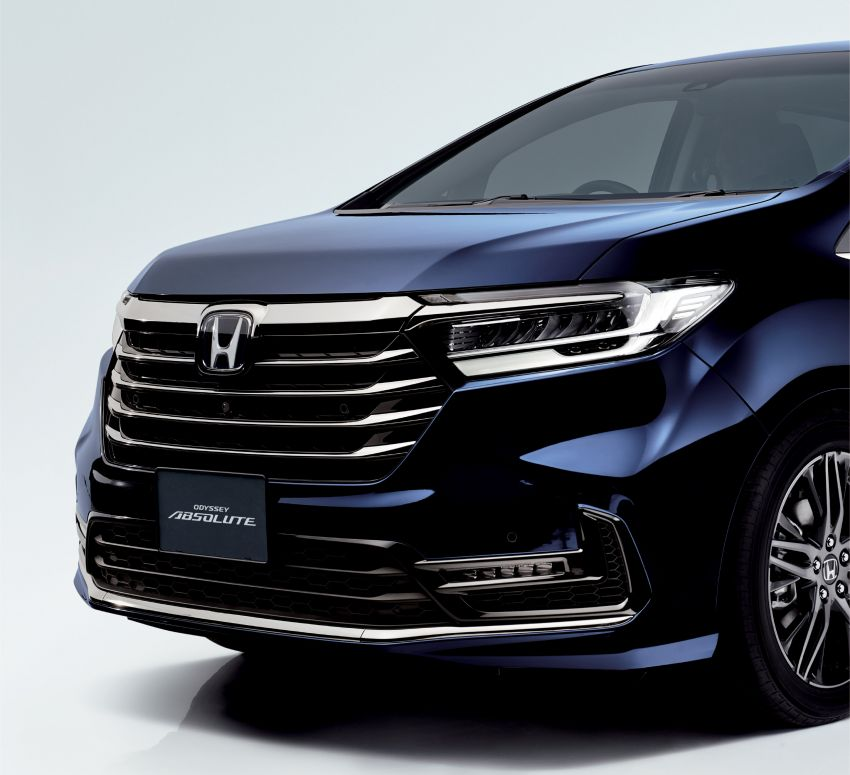 2020 Honda Odyssey facelift debuts in Japan – MPV receives new styling, features, e:HEV hybrid system Image #1205540