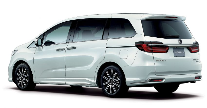 2020 Honda Odyssey facelift debuts in Japan – MPV receives new styling, features, e:HEV hybrid system Image #1205542
