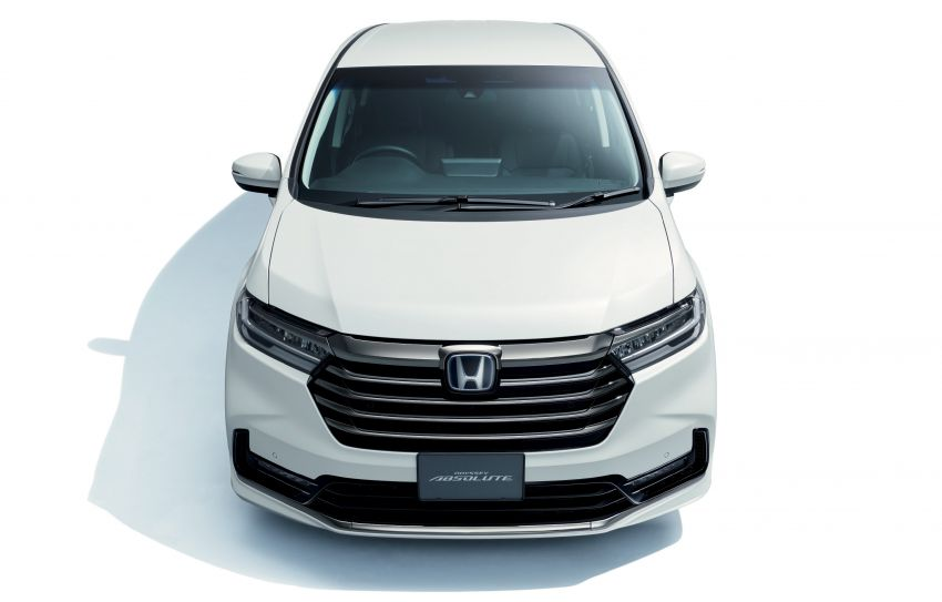 2020 Honda Odyssey facelift debuts in Japan – MPV receives new styling, features, e:HEV hybrid system Image #1205543