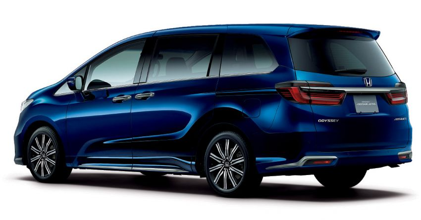 2020 Honda Odyssey facelift debuts in Japan – MPV receives new styling, features, e:HEV hybrid system Image #1205545