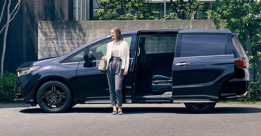 2020 Honda Odyssey facelift debuts in Japan – MPV receives new styling, features, e:HEV hybrid system Image #1205500
