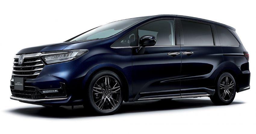 2020 Honda Odyssey facelift debuts in Japan – MPV receives new styling, features, e:HEV hybrid system Image #1205546