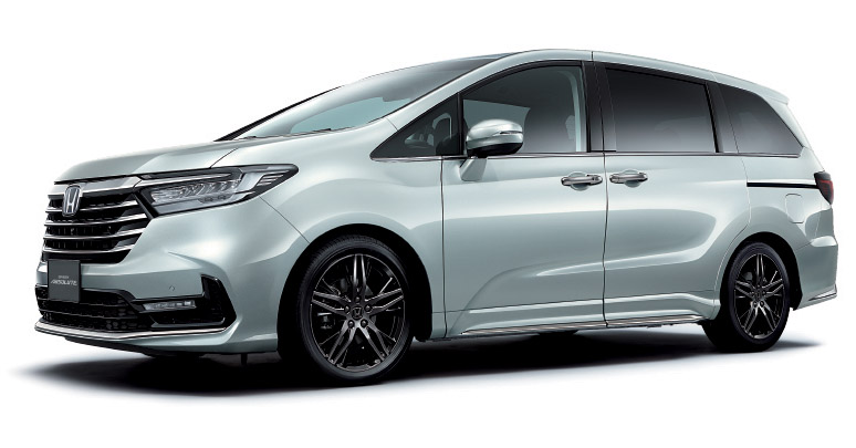 2020 Honda Odyssey facelift debuts in Japan – MPV receives new styling, features, e:HEV hybrid system Image #1205547