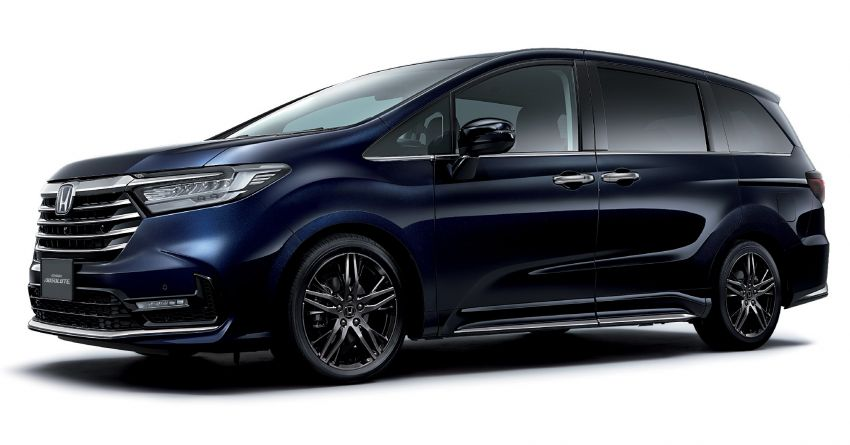 2020 Honda Odyssey facelift debuts in Japan – MPV receives new styling, features, e:HEV hybrid system Image #1205550