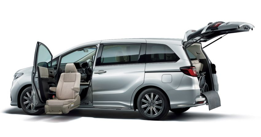 2020 Honda Odyssey facelift debuts in Japan – MPV receives new styling, features, e:HEV hybrid system Image #1205552