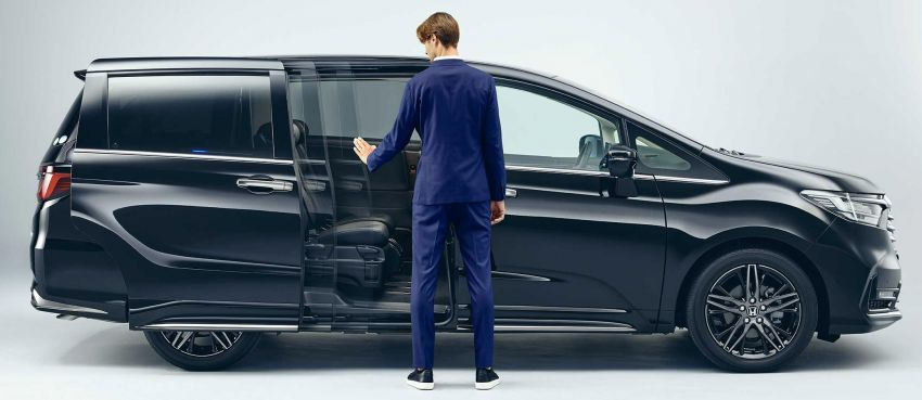 2020 Honda Odyssey facelift debuts in Japan – MPV receives new styling, features, e:HEV hybrid system Image #1205501
