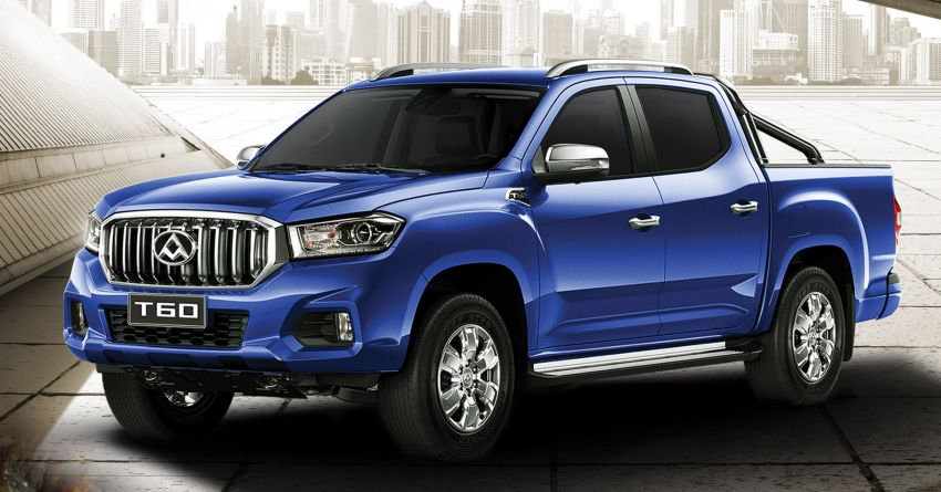 Maxus T60 2.8L 4WD in Malaysia with rear disc brakes, 15k km service interval, 3-year free service – RM99,888 Image #1214619