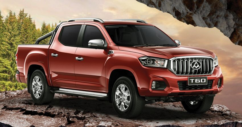 Maxus T60 2.8L 4WD in Malaysia with rear disc brakes, 15k km service interval, 3-year free service – RM99,888 Image #1214620
