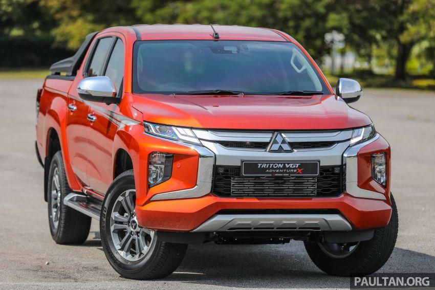 GALLERY: 2020 Mitsubishi Triton Adventure X – flagship in the new Sun Flare Orange Pearl colour Image #1214163