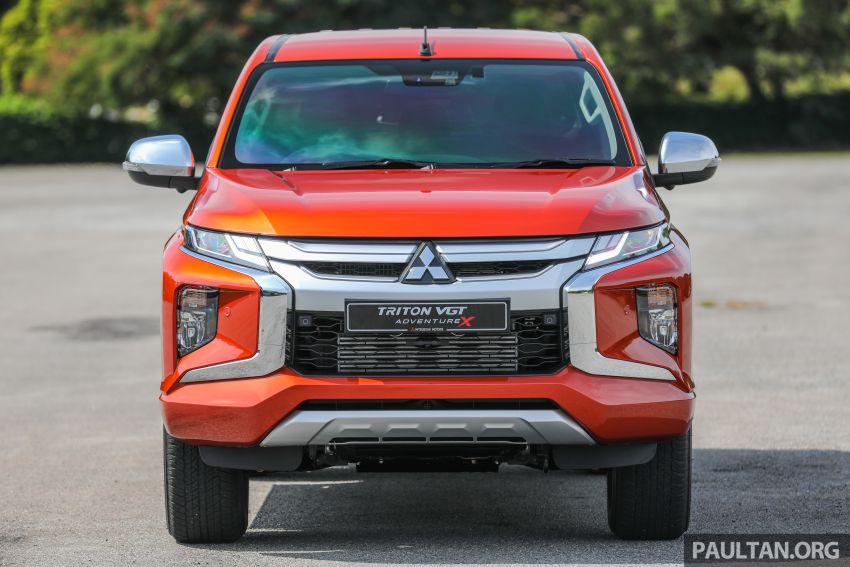 GALLERY: 2020 Mitsubishi Triton Adventure X – flagship in the new Sun Flare Orange Pearl colour Image #1214177