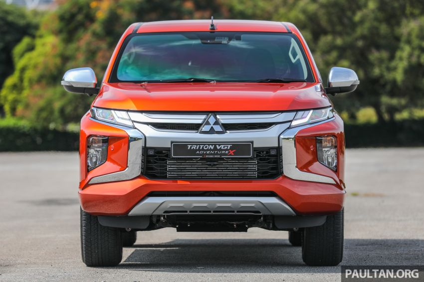 GALLERY: 2020 Mitsubishi Triton Adventure X – flagship in the new Sun Flare Orange Pearl colour Image #1214179