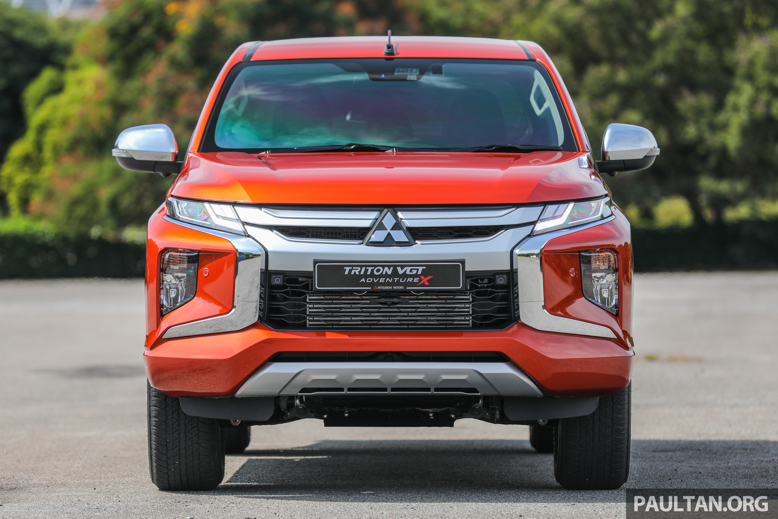 GALLERY: 2020 Mitsubishi Triton Adventure X - flagship in ...