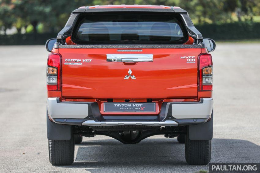 GALLERY: 2020 Mitsubishi Triton Adventure X – flagship in the new Sun Flare Orange Pearl colour Image #1214180