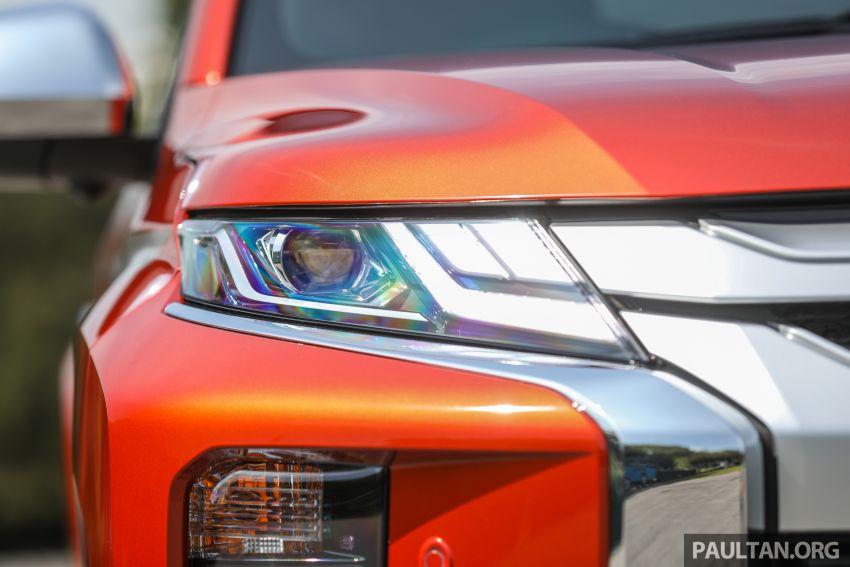 GALLERY: 2020 Mitsubishi Triton Adventure X – flagship in the new Sun Flare Orange Pearl colour Image #1214186