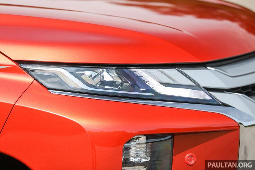 GALLERY: 2020 Mitsubishi Triton Adventure X – flagship in the new Sun Flare Orange Pearl colour Image #1214187