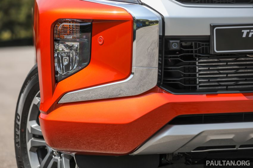 GALLERY: 2020 Mitsubishi Triton Adventure X – flagship in the new Sun Flare Orange Pearl colour Image #1214188