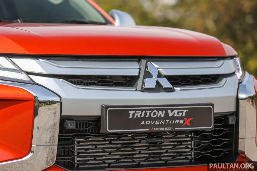 GALLERY: 2020 Mitsubishi Triton Adventure X – flagship in the new Sun Flare Orange Pearl colour Image #1214190