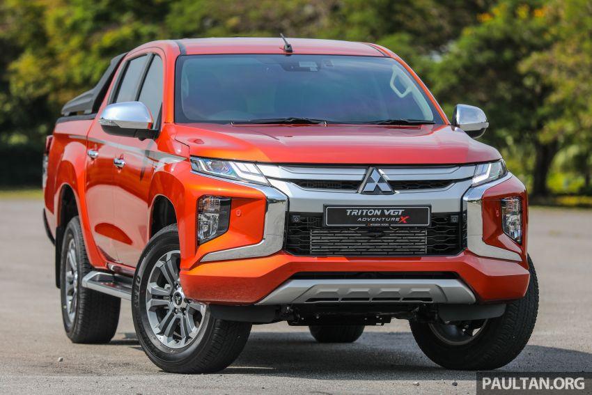 GALLERY: 2020 Mitsubishi Triton Adventure X – flagship in the new Sun Flare Orange Pearl colour Image #1214164