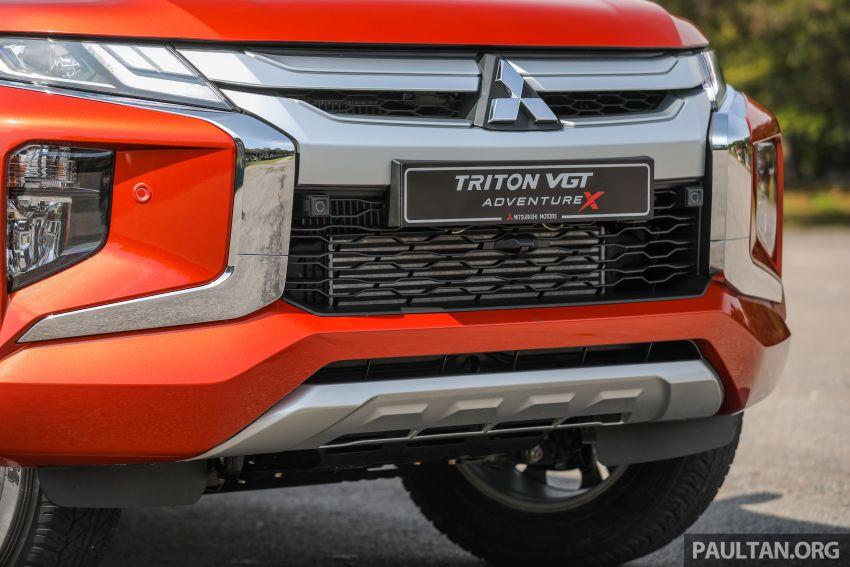 GALLERY: 2020 Mitsubishi Triton Adventure X – flagship in the new Sun Flare Orange Pearl colour Image #1214191