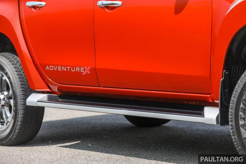 GALLERY: 2020 Mitsubishi Triton Adventure X – flagship in the new Sun Flare Orange Pearl colour Image #1214197