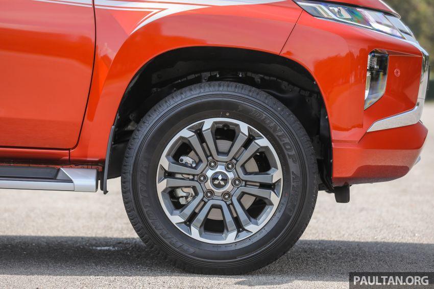 GALLERY: 2020 Mitsubishi Triton Adventure X – flagship in the new Sun Flare Orange Pearl colour Image #1214199