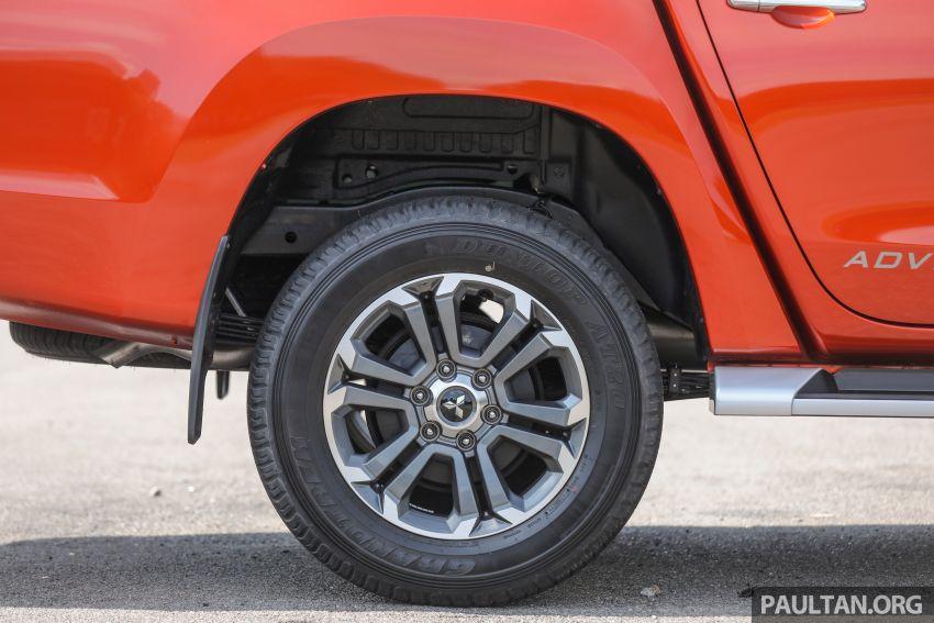 GALLERY: 2020 Mitsubishi Triton Adventure X – flagship in the new Sun Flare Orange Pearl colour Image #1214200