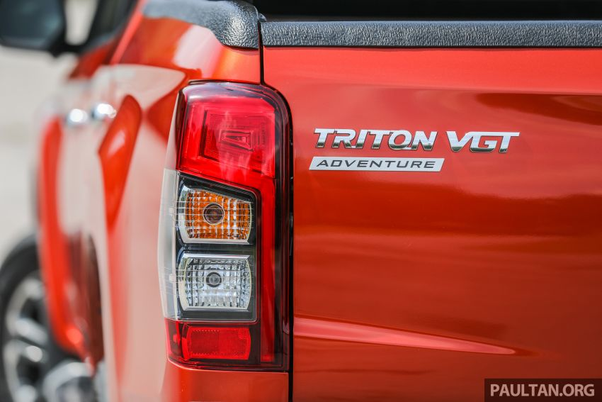 GALLERY: 2020 Mitsubishi Triton Adventure X – flagship in the new Sun Flare Orange Pearl colour Image #1214203