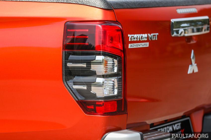 GALLERY: 2020 Mitsubishi Triton Adventure X – flagship in the new Sun Flare Orange Pearl colour Image #1214204