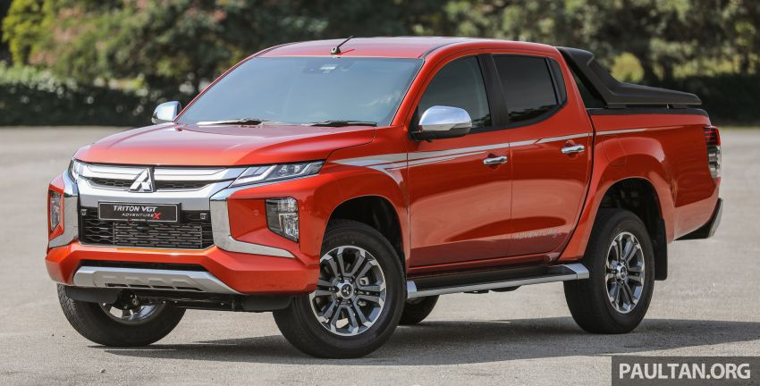 GALLERY: 2020 Mitsubishi Triton Adventure X – flagship in the new Sun Flare Orange Pearl colour Image #1214166
