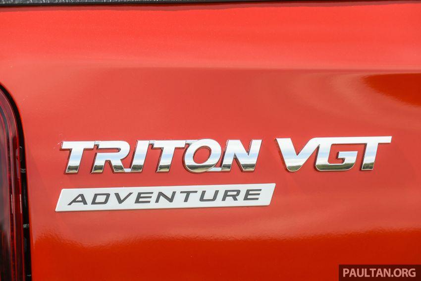 GALLERY: 2020 Mitsubishi Triton Adventure X – flagship in the new Sun Flare Orange Pearl colour Image #1214210