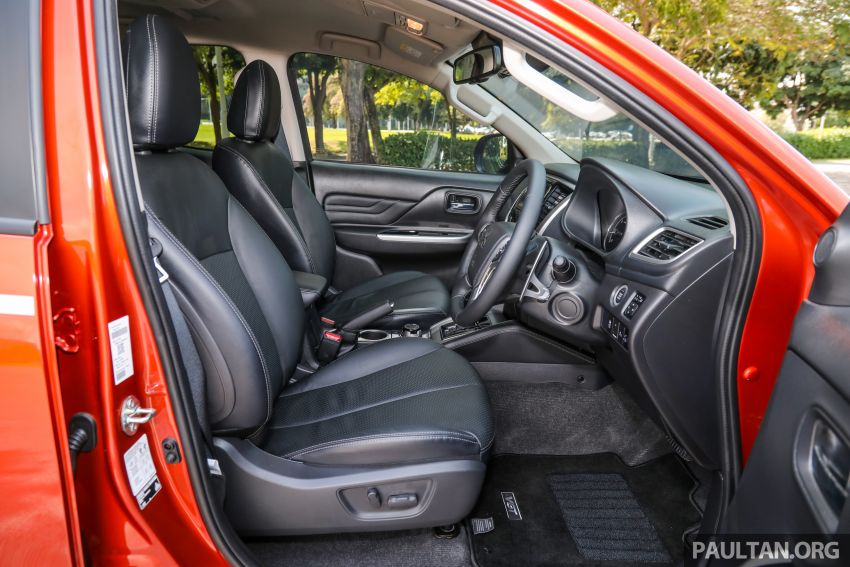 GALLERY: 2020 Mitsubishi Triton Adventure X – flagship in the new Sun Flare Orange Pearl colour Image #1214268