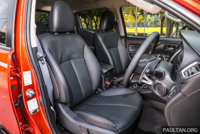 GALLERY: 2020 Mitsubishi Triton Adventure X – flagship in the new Sun Flare Orange Pearl colour Image #1214271
