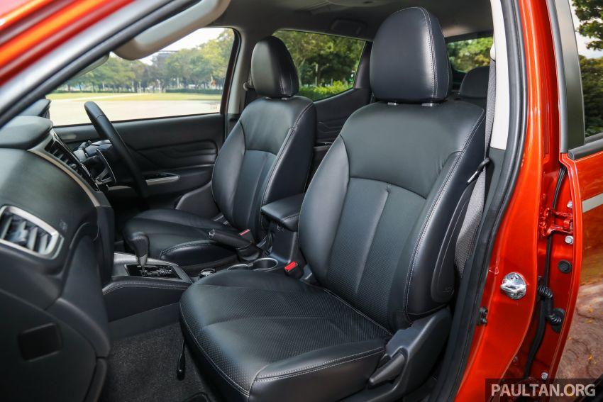 GALLERY: 2020 Mitsubishi Triton Adventure X – flagship in the new Sun Flare Orange Pearl colour Image #1214273
