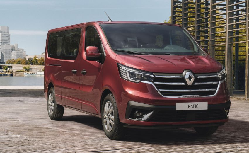 Renault Trafic van gets another facelift, debut in 2021 Image #1203487