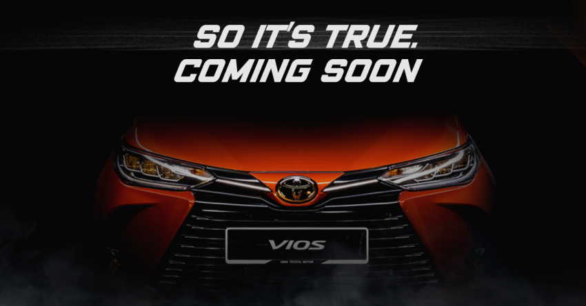 2020 Toyota Vios facelift teased – to be launched soon Image #1209948