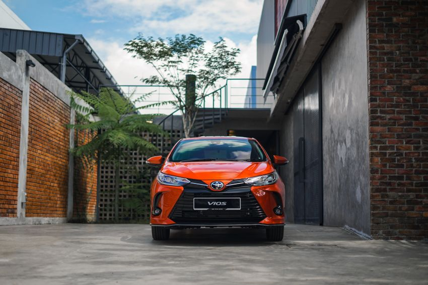 2020 Toyota Vios facelift now open for booking – LED headlamps standard; AEB, LDA available; from RM76k Image #1210331