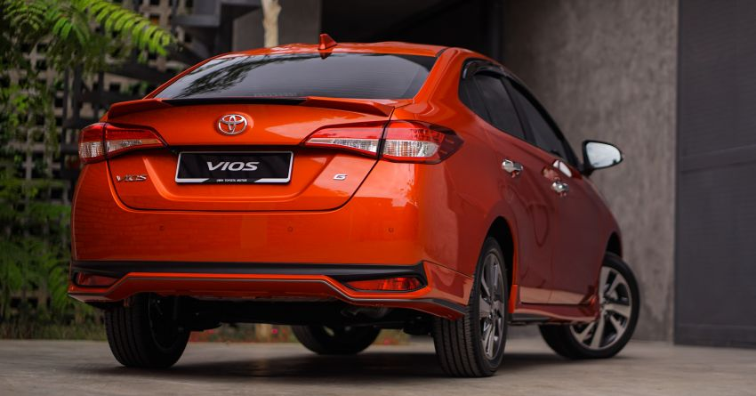 2020 Toyota Vios facelift now open for booking – LED headlamps standard; AEB, LDA available; from RM76k Image #1210344