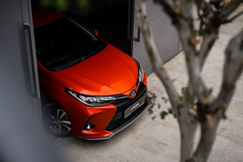 2020 Toyota Vios facelift now open for booking – LED headlamps standard; AEB, LDA available; from RM76k Image #1210350