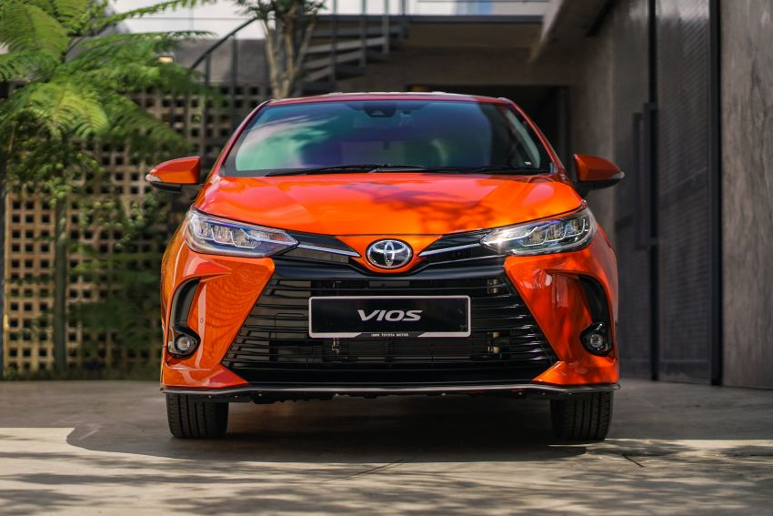 2020 Toyota Vios facelift now open for booking – LED headlamps standard; AEB, LDA available; from RM76k Image #1210332