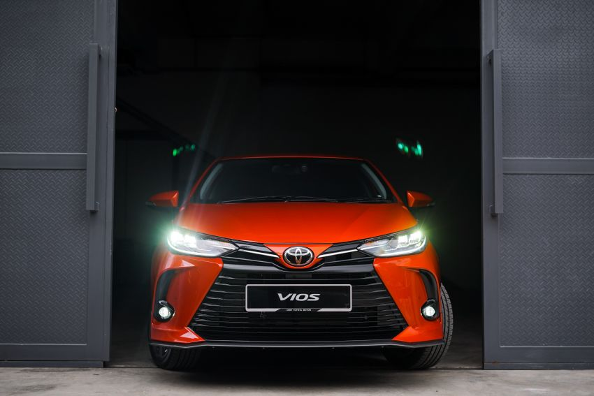 2020 Toyota Vios facelift now open for booking – LED headlamps standard; AEB, LDA available; from RM76k Image #1210351